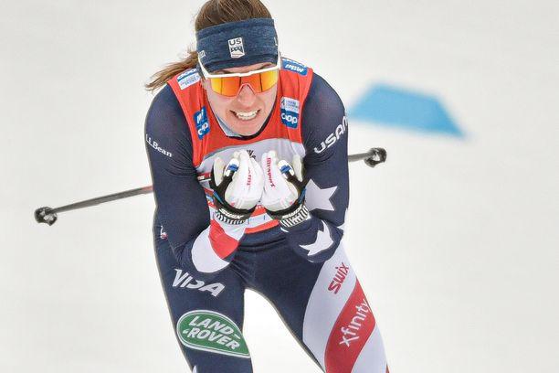 Rosie Brennan kaadettiin Tour de Skillä.