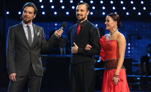 Mikko ja Katri selvisivät viimeksi täpärästi jatkoon. Paria haastattelee Mikko Leppilampi.