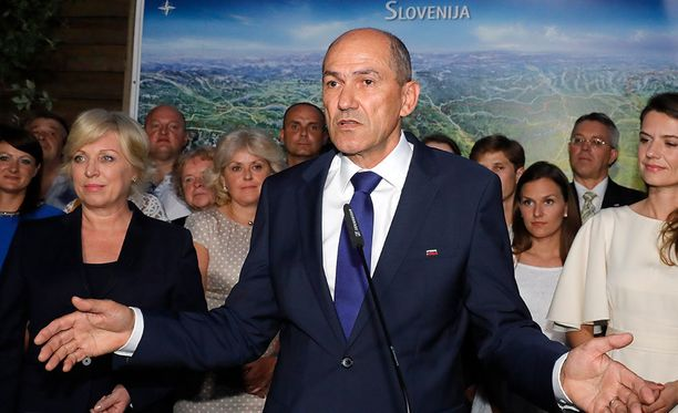 Slovenian parlamenttivaaleissa voittoon kiri Janez Janšan johdolla oikeistopopulistinen SDS.