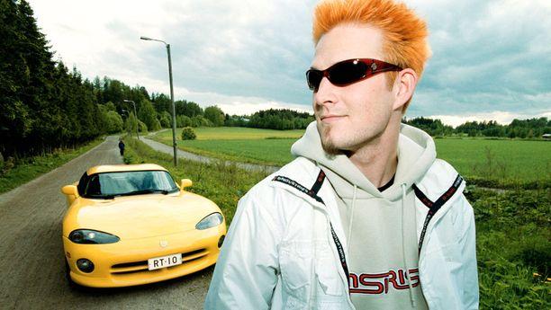 Vuonna 2001 Darudella oli näin sporttinen ulkoasu.