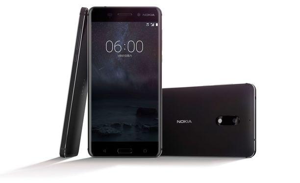 Tältä näyttää uusi Nokia 6 -älypuhelin. Se on ensimmäinen Androidilla toimiva Nokia-merkkinen puhelin.