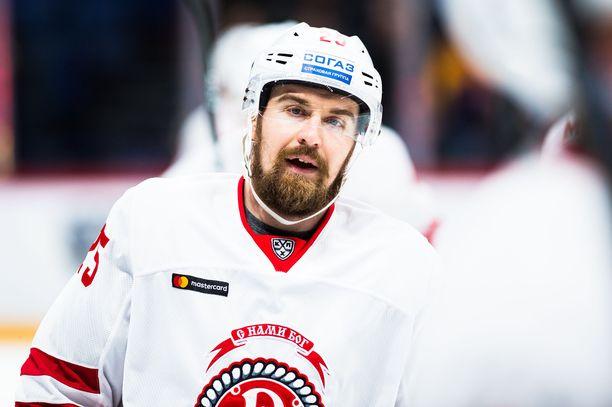 Jokereista tuttu Pekka Jormakka vietti Vitjazissa vain yhden kauden.