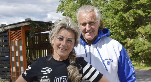 Kike ja Kimmo Elomaa ovat olleet naimissa 41 vuotta.