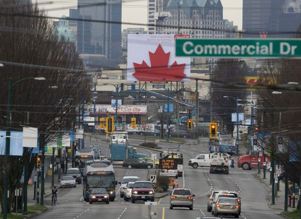 Kuva oikeasta Vancouverista.