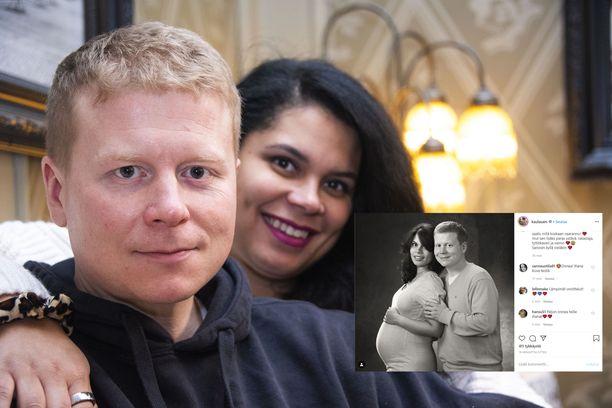 Sampo ja Minttu Kaulanen ovat olleet yhdessä kymmenen vuotta.