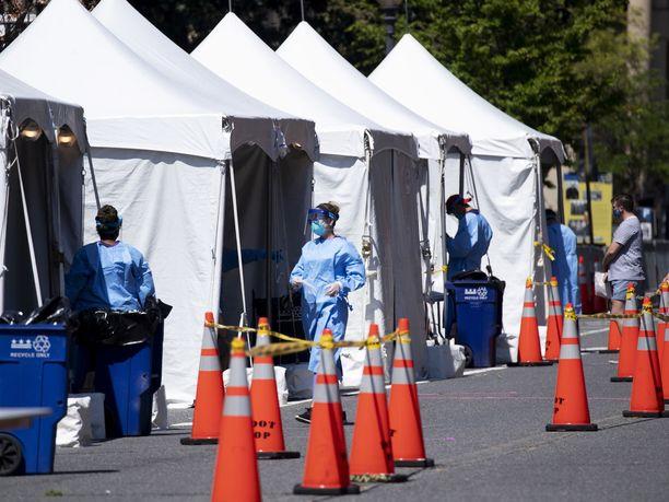 Yhdysvalloissa on nyt todettu liki 2,8 miljoonaa koronavirustartuntaa.