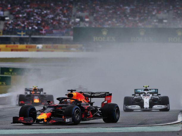 Red Bull -kuskeilla oli vaikea startti.