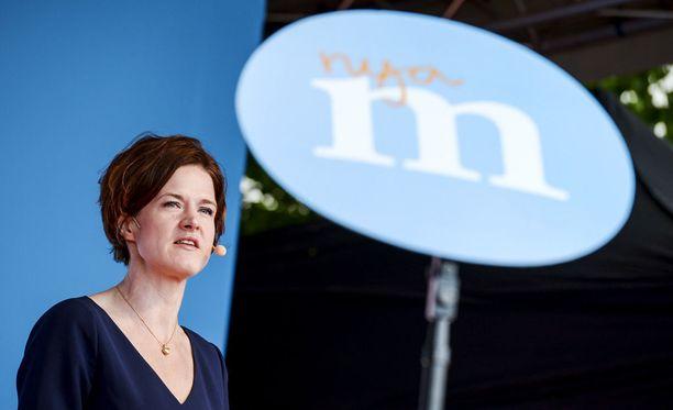 Puolueen puheenjohtajan Anna Kinberg Batran mukaan puolue on pulassa.