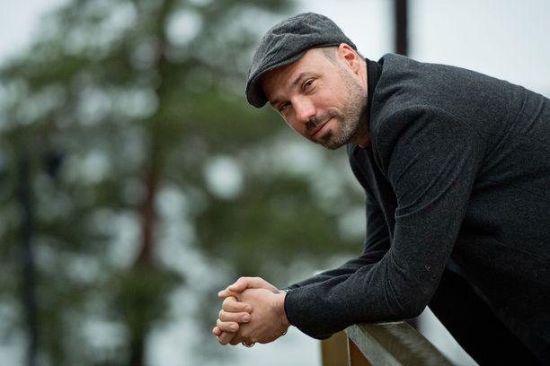 Fabian Wagner vieraili Espoossa pokkaamassa palkinnon vuonna 2017.