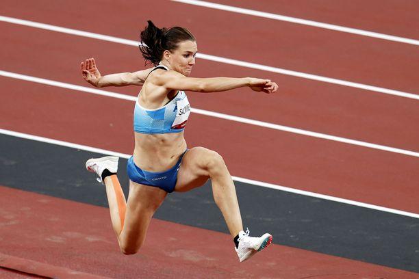 Senni Salminen karsiutui kolmiloikan olympiafinaalista.