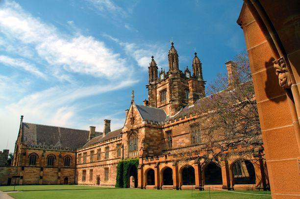 Jotkut kiinalaiset matkailusivustot mainostavat Sydneyn yliopistoa Potter-kuvauspaikkana.