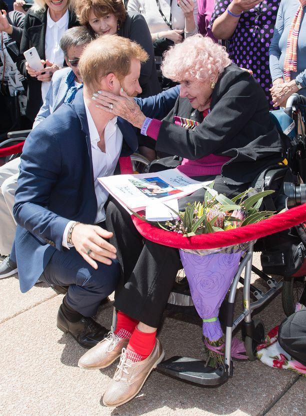 Prinssi Harry ja Daphne Dunne tapasivat viimeisen kerran viime lokakuussa.