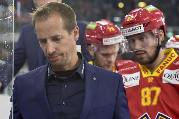 Antti Törmänen siirtyi Sveitsiin valmentamaan kaudeksi 2017–18.