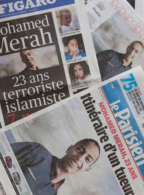 Mohamed Merah aloitti uudenlaisen iskutavan.