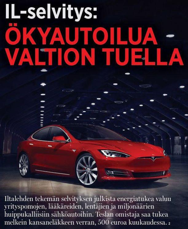 Iltalehden juttu julkaistiin viime vuoden toukokuussa.