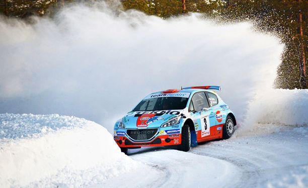 Hallitseva Suomen mestari Juha Salo oli avauspäivän nopein Rovaniemellä.