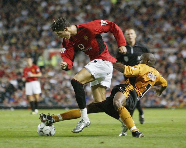 Kuva Ronaldosta vuodelta 2003.