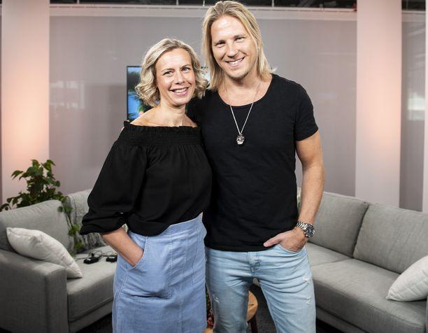 Iltalehden Miia Vatka sai TIS-studioon vieraakseen Sami Kurosen.