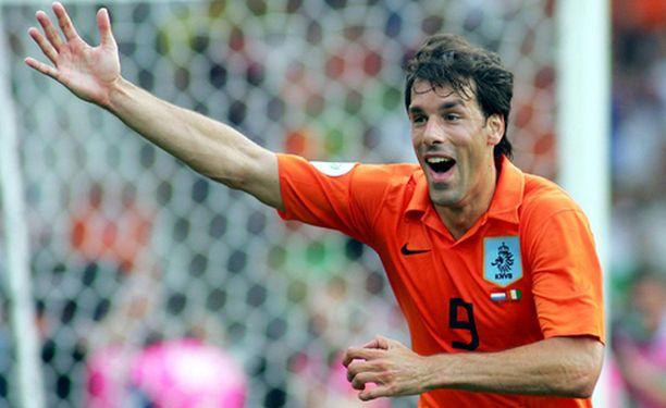 Van Nistelrooy on Hollannin maajoukkueen ykköshyökkääjä.