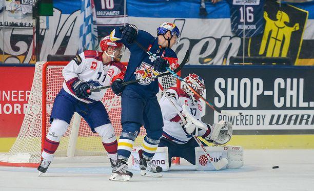 HIFK joutui taipumaan Red Bull Münchenille jääkiekon CHL:ssä.