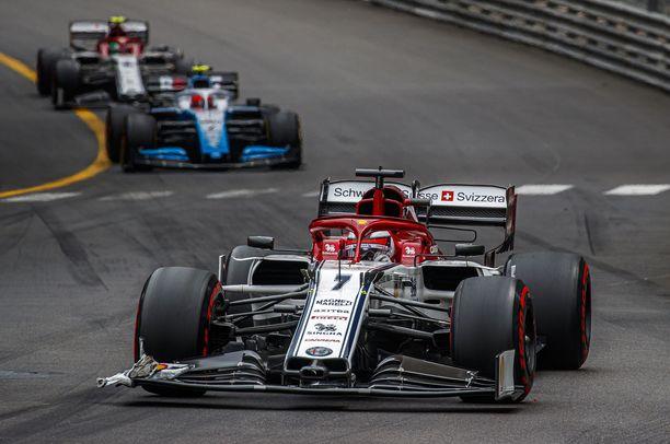 Kimi Räikkösen Monacon GP:stä ei jäänyt juuri kerrottavaa.