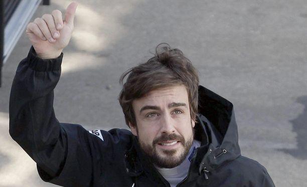 Fernando Alonso toipuu.