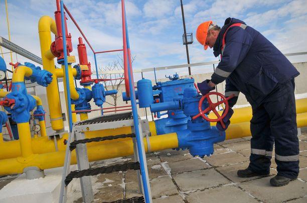 Venäjä on jälleen katkaissut kaasutoimitukset Ukrainaan.