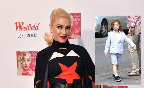 Apollo, 4, on Gwen Stefanin lapsista nuorin.