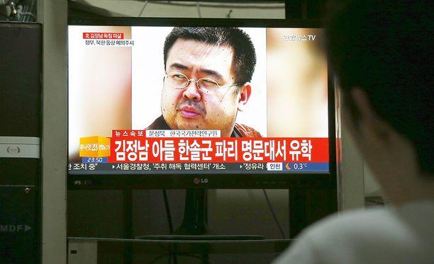 Kim Jong-unin velipuoli ja potentiaalinen kilpailija Kim Jong Nam surmattiin vuonna 2017 Malesiassa.