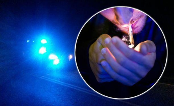 Poliisiasemien yhteinen huumausaineita koskeva katuvalvontaisku tuotti heti tuloksia Loimaalla ja Forssassa. Poliisi kirjasi yhteensä 27 epäiltyä rikosta. Kuvituskuva.