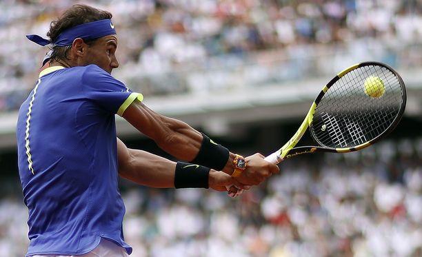 Rafael Nadal voitti Ranskan avoimet jo kymmenennen kerran.