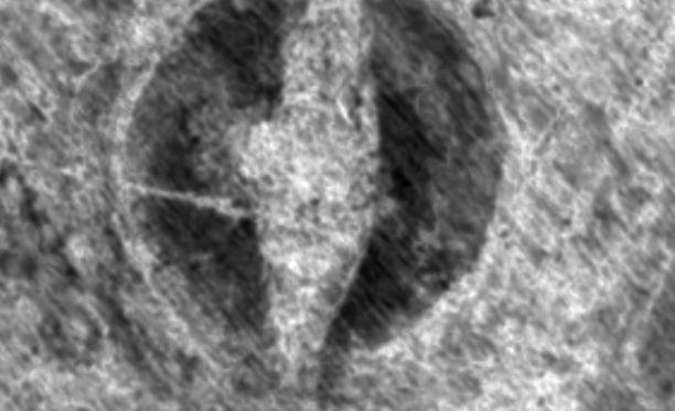 Viikinkilaiva löytyi maatutkan avulla. Se on pituudeltaan noin 20 metriä.