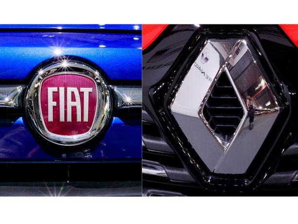 Kaksin kaunihimpi. Autonvalmistaja Fiat Chrysler ehdottaa yhdistymistä ranskalaisen Renaultin kanssa.