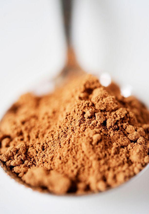 Raakasuklaassa käytetään aitoa kaakaota, jossa on runsaasti vitamiineja ja antioksidantteja.