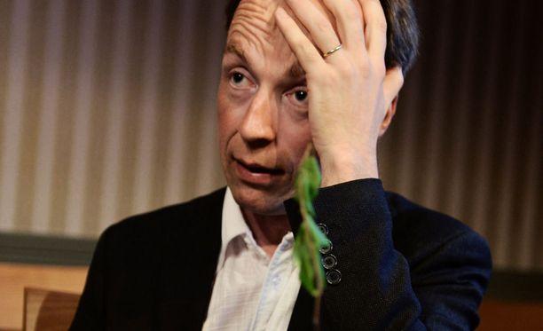 Euroedustaja Jussi Halla-aho on perussuomalaisten maahanmuuttokriittisen siiven kärkihahmo.