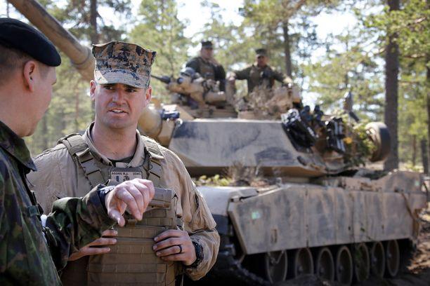Bildresultat för Nato joukkoja Suomessa 2016 kuva
