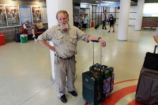Christer Borgmanin mukaan matka laivalta alkoholinhakureissulle Riikaan on liian pitkä.