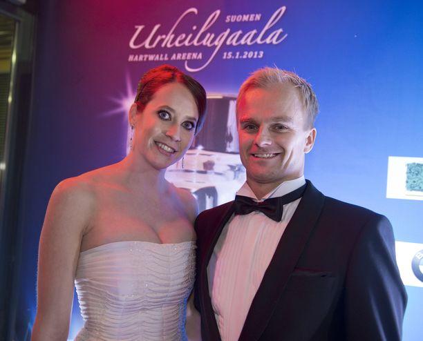 Catherine Hyde-Kovalainen ja Heikki Kovalainen ovat olleet yhdessä vuodesta 2002 asti.