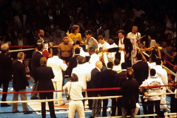 Mike Tyson puolusti raskaansarjan MM-titteliään useasti Donald Trumpin omistamalla kasinolla New Jerseyllä.