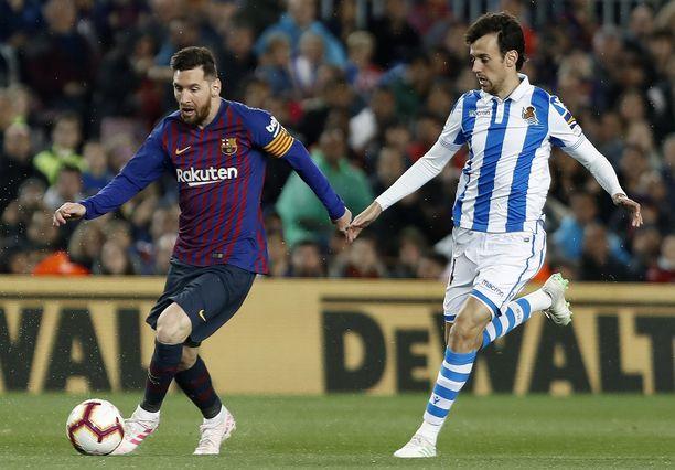 Lionel Messin kipparoima Barcelona on hyvin lähellä Espanjan mestaruuden varmistamista.