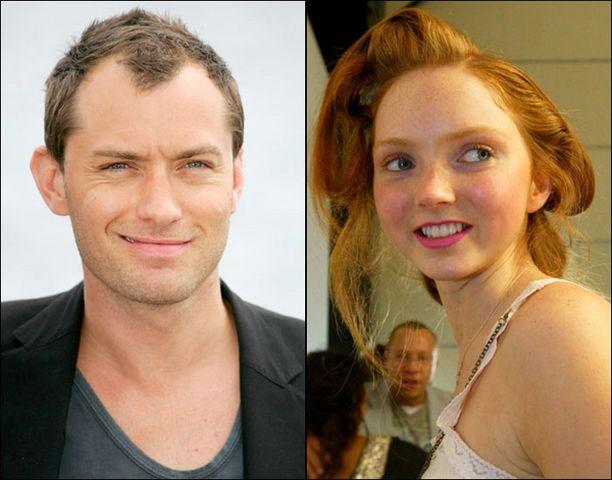 Jude Law'n viimeisin valloitus on 20-vuotias Lily Cole.