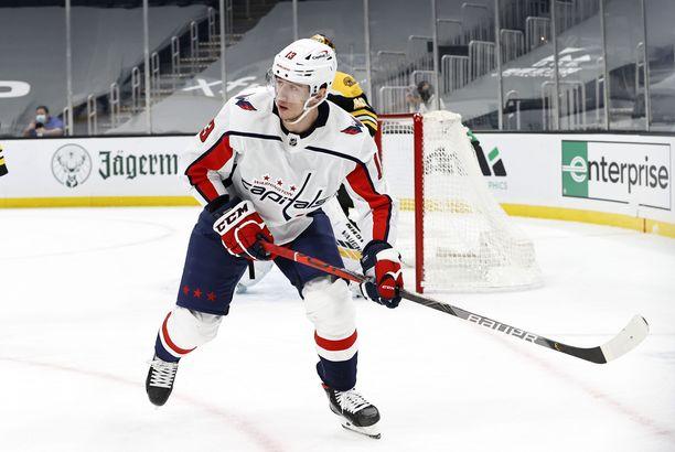 Jakub Vrana hakee nyt vastuuta Detroitissa, joka on yksi NHL:n viime aikojen heittopusseista.