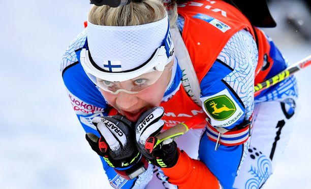 Kaisa Mäkäräinen on ampumahiihtosirkuksen parhaita hiihtäjiä.