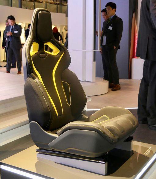 Istuimen muodot seuraavat ihmisen rakennetta. Yksilöllisiä eroja voi tasata säädöillä.