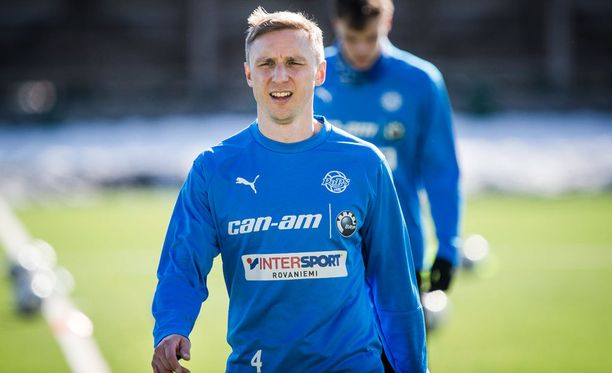 35-vuotias Antti Okkonen sai täyteen 300 liigaottelua.