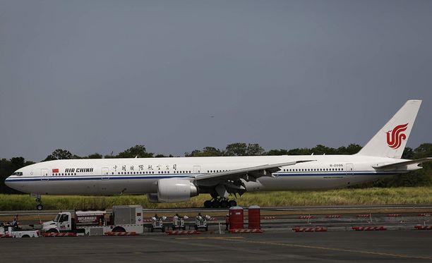 Air Chinan kone lähti sunnuntai-aamuna Changshasta Pekingiin, mutta teki hätälaskun Henaniin. Arkistokuva.