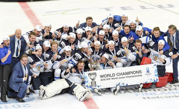 Näistä 2016 maailmanmestareista on tullut ja tulee kovia pelimiehiä NHL:ään.