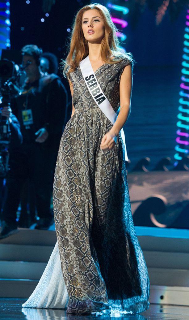 Miss Serbia Andjelka Tomasevic.