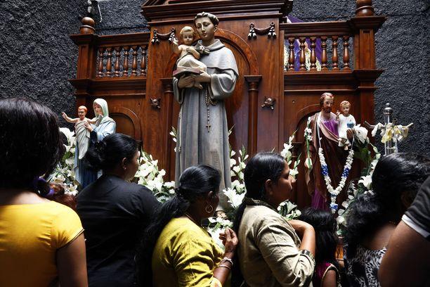Pyhän Anthonyn kirkko avattiin toukokuussa rukoilijoille ensimmäistä kertaa Sri Lankan terrori-iskujen jälkeen.