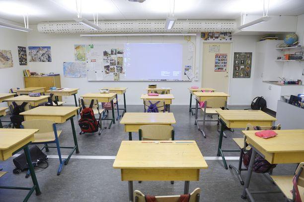 Keravan Savion koulun viidesluokkalaisille suunniteltu leirikoulu peruuntui. Kuvituskuva.